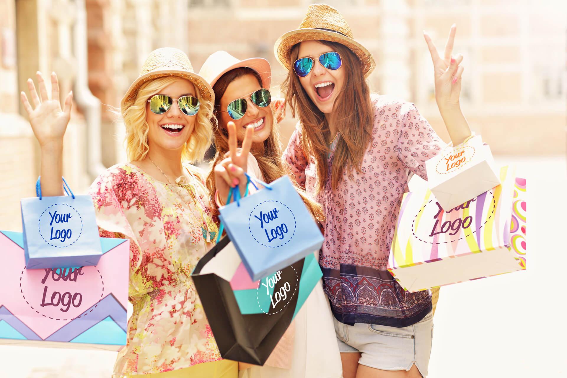 gadget personalizzabili shopper