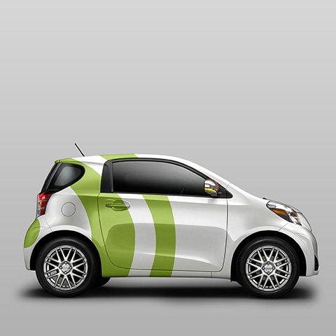 adesivi pubblicitari per auto