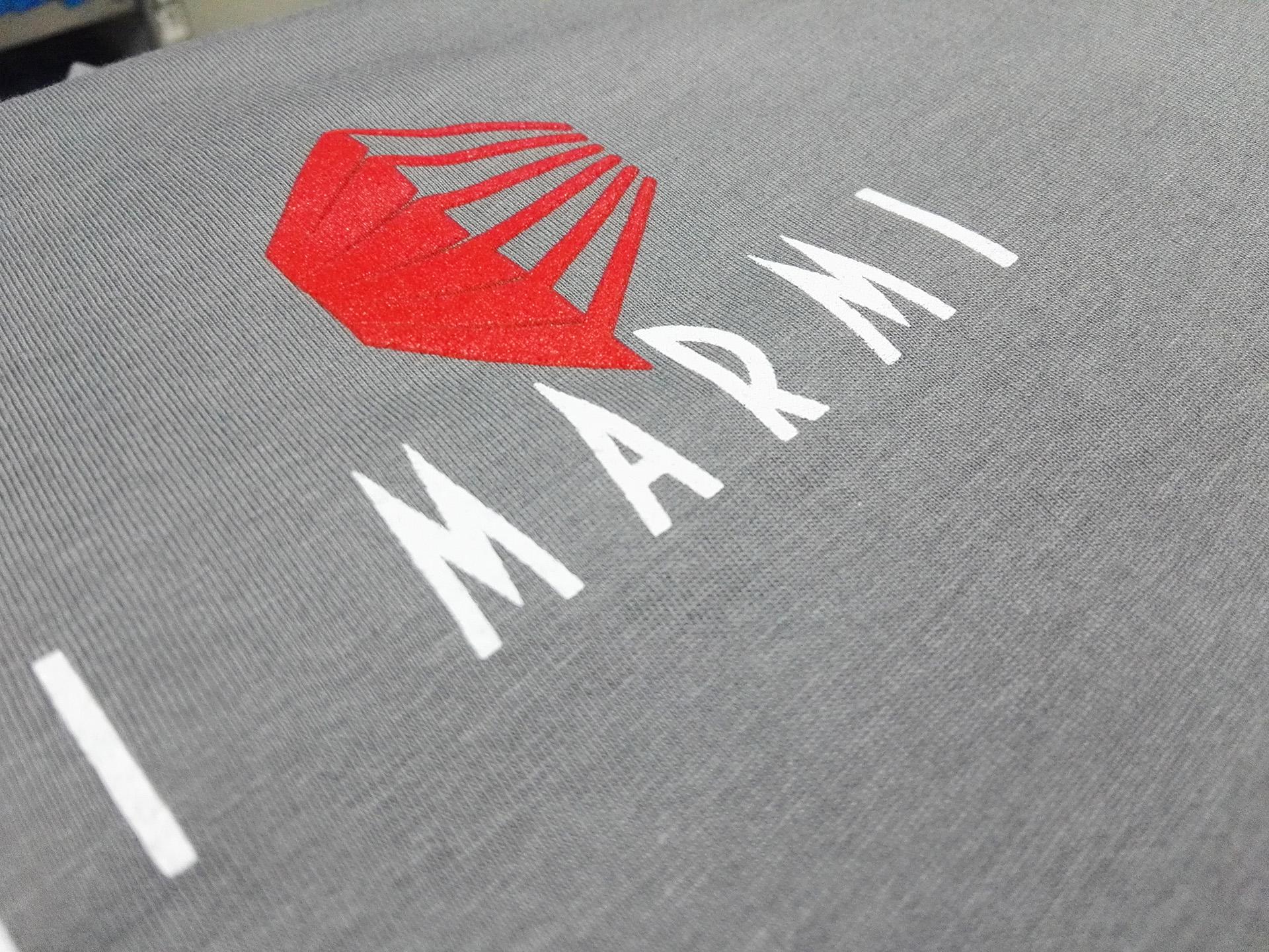 personalizzazione abbigliamento per aziende - stampa serigrafica