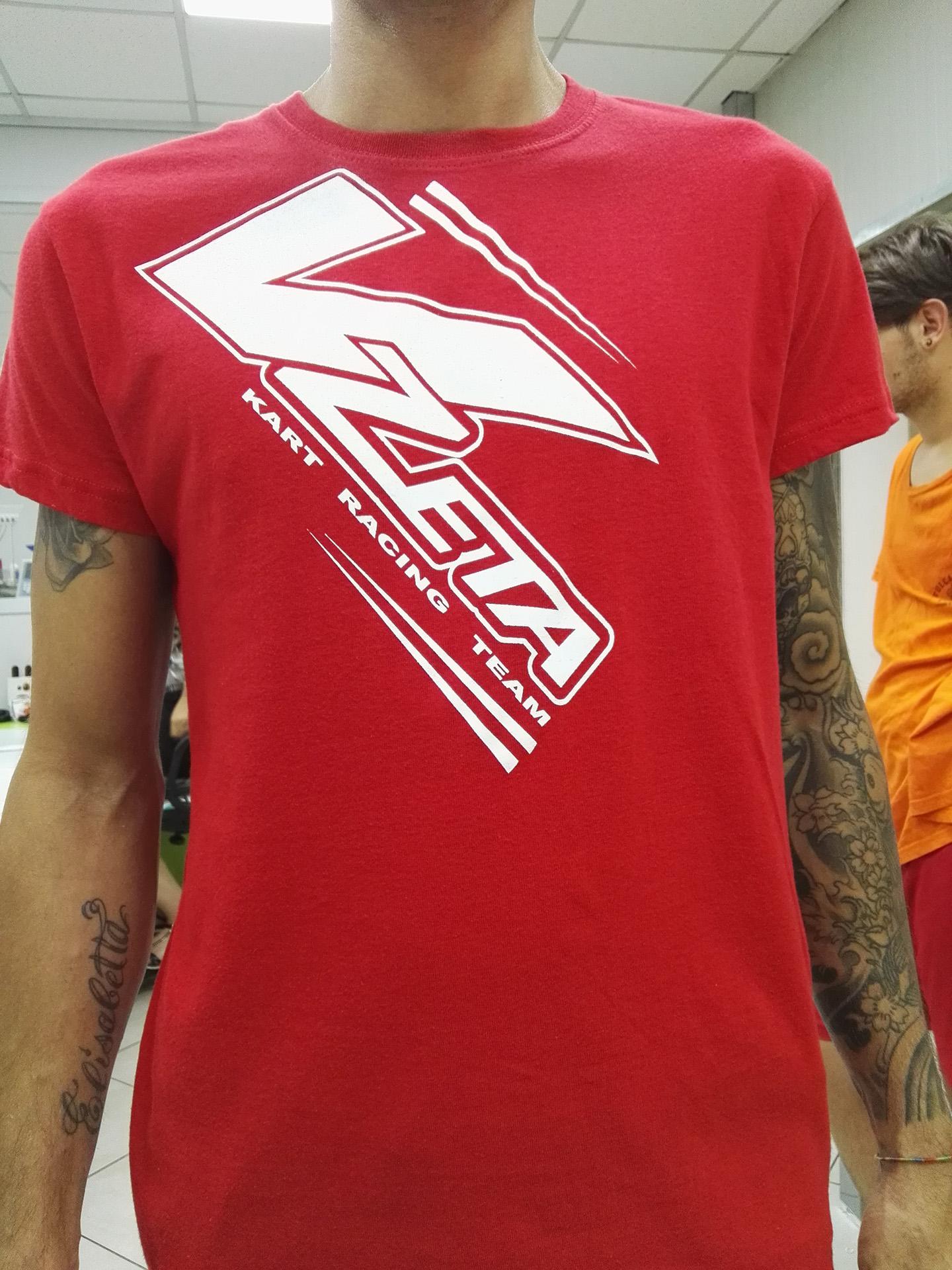 stampa serigrafica magliette a Brescia
