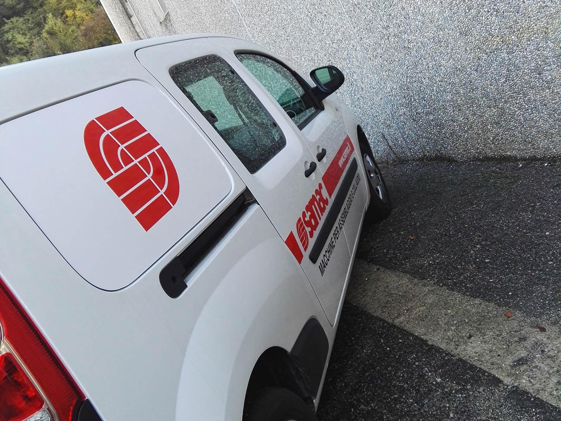 personalizzazione veicoli aziendali