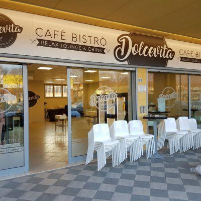 vetrofania bar bistrò a Brescia