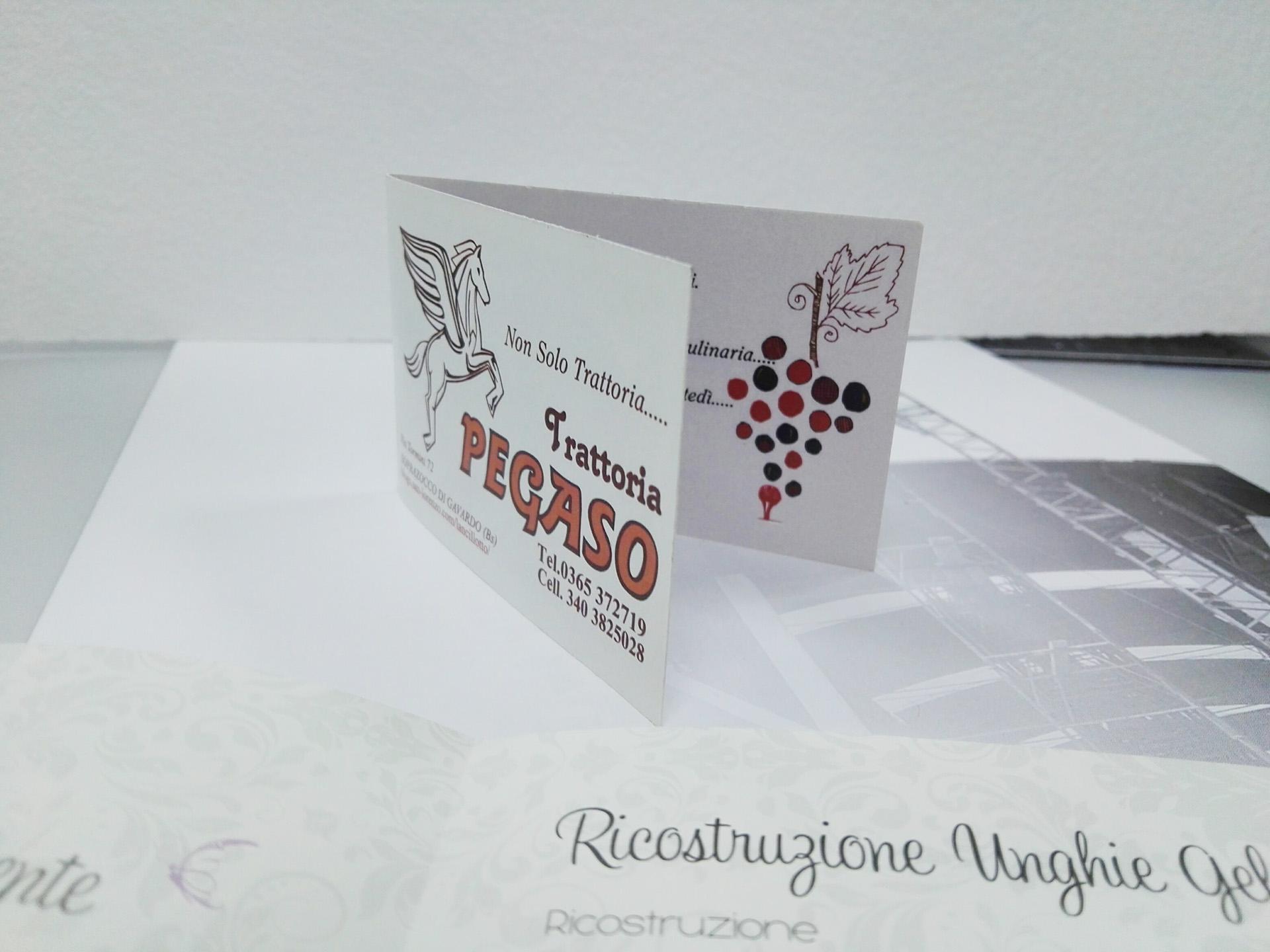 Stampa bigliettini da visita a Brescia